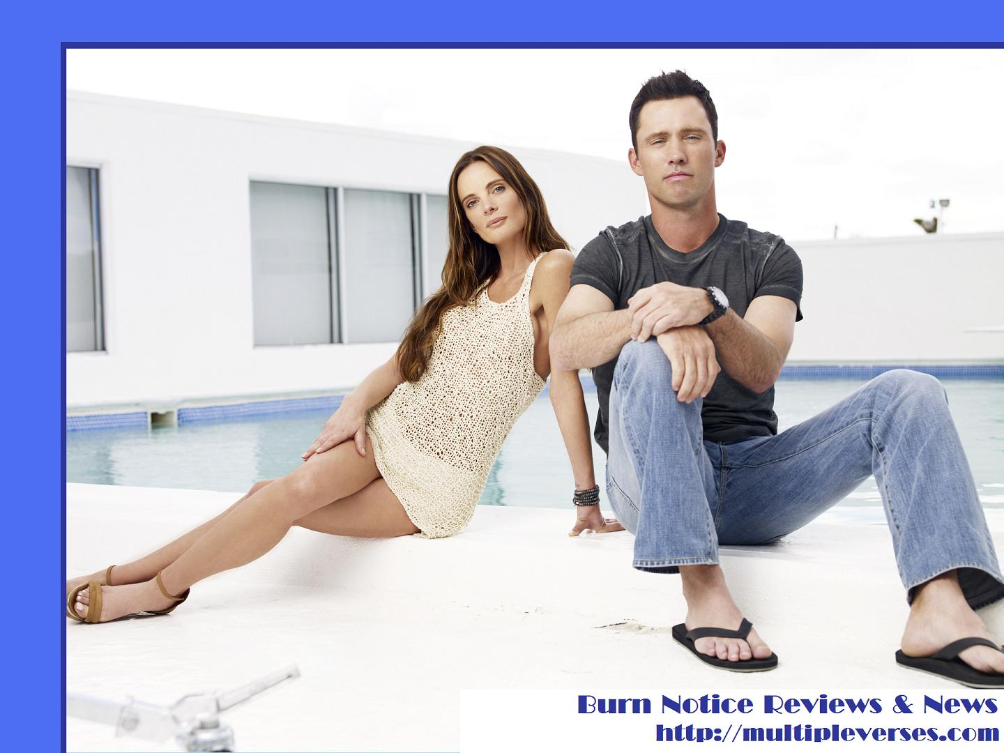Burn Notice Wallpaper from Multipleverses 1440x1080
