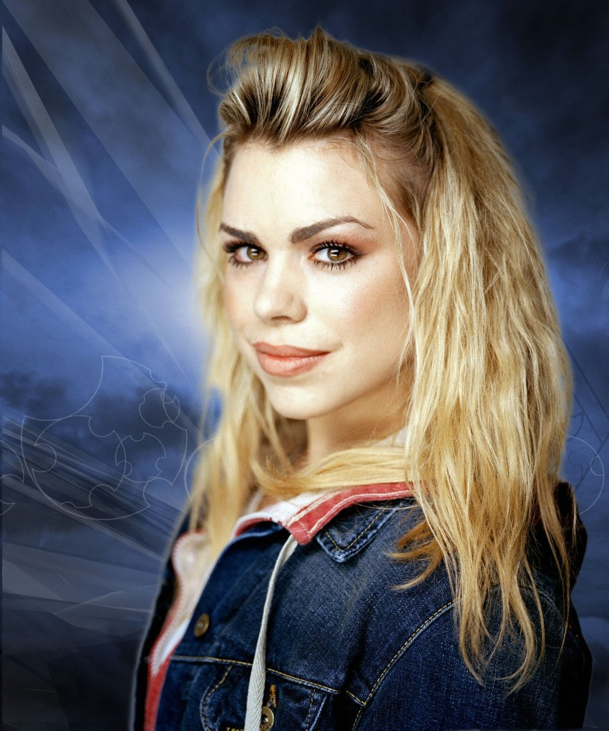 Picture shows: Rose (BILLIE PIPER). CHRISTOPHER ECCLESTON plays The Doctor  in this new series coming soon to BBC ONE with BILLIE PIPER as Rose Tyler. Travelling through time and space, the Doctor and Rose come face to face with a number of new and exciting monsters, such as the Autons which are aliens made of living plastic - taking the shape of shop window dummies, they attack the streets of London in a bid to take over the world.  Warning: Use of this copyright image is subject to Terms of Use of BBC Digital Picture Service.  In particular, this image may only be used during the publicity period for the purpose of publicising 'Doctor Who' and provided the BBC is credited. Any use of this image on the internet or for any other purpose whatsoever, including advertising or other commercial uses, requires the prior written approval of the BBC.